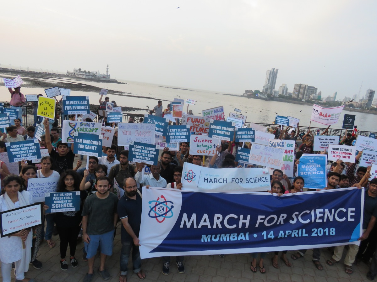 March For Science Mumbai